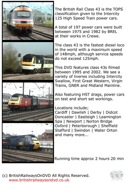 The Power of the Class 43 - Railway DVD