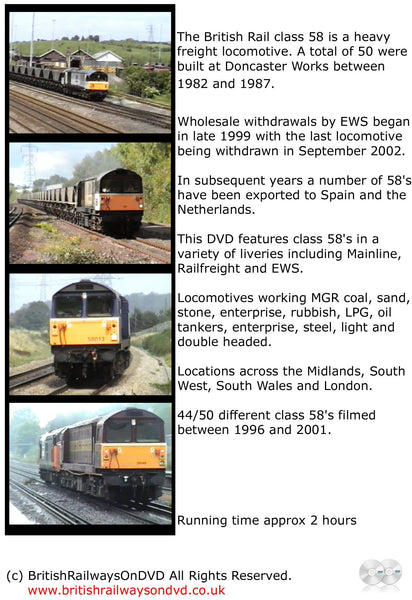 The Power of the Class 58 - Railway DVD