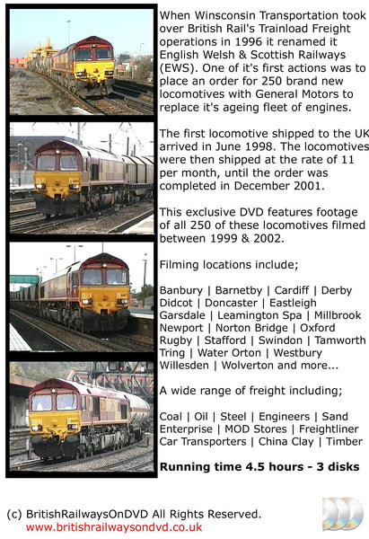 The Power of the Class 66 - Railway DVD