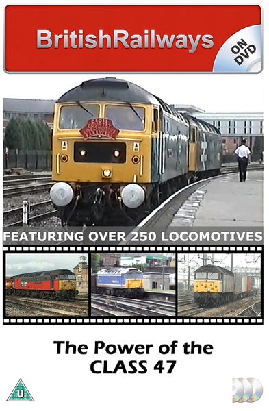 The Power of the Class 47 - Railway DVD