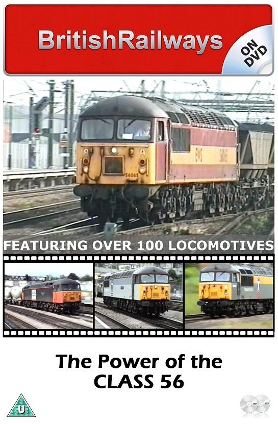 The Power of the Class 56 - Railway DVD