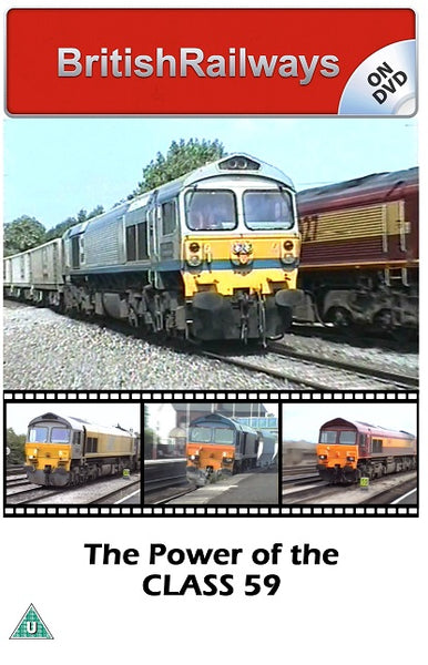 The Power of the Class 59 - Railway DVD