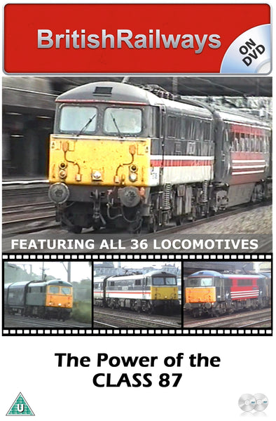 The Power of the Class 87 - Railway DVD