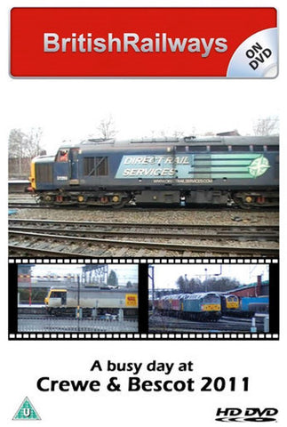A busy day at Crewe & Bescot 2011