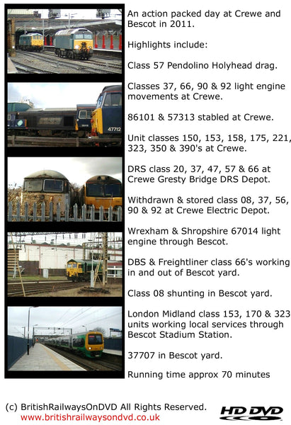 A busy day at Crewe & Bescot 2011 - Railway DVD