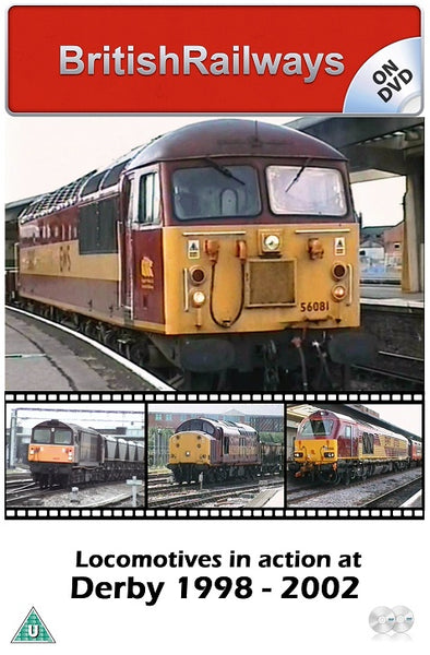 Locomotives in action at Derby 1998 - 2002 - Railway DVD