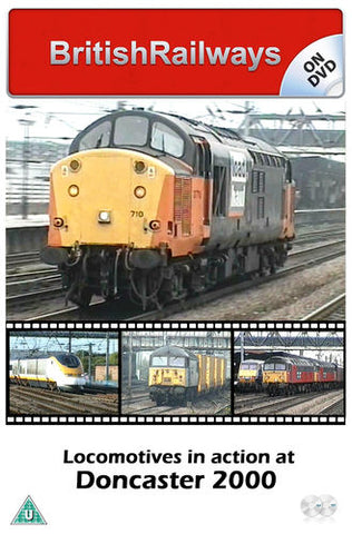 Locomotives in action at Doncaster 2000 - Railway DVD