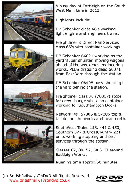 A busy day at Eastleigh 2013 - Railway DVD