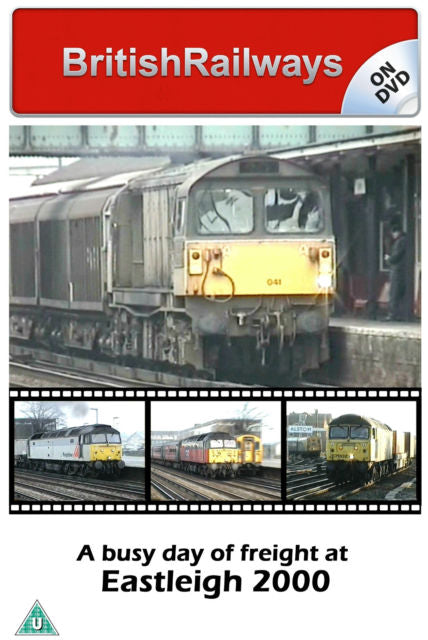 A busy day of freight at Eastleigh 2000