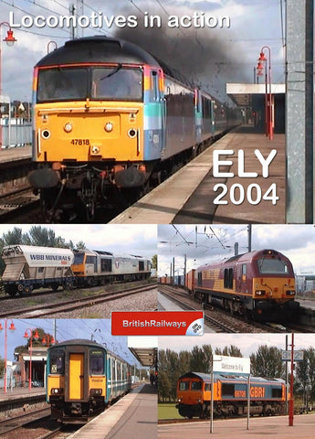 Locomotives in action at Ely 2004 - Railway DVD