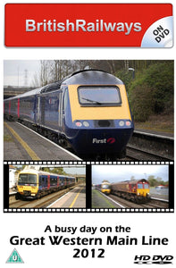 A busy day on the Great Western Main Line 2012 - Railway DVD