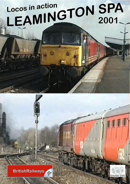 Locomotives in action at Leamington Spa 2001 - Railway DVD