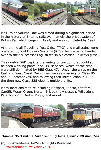 Mail Trains Volume One (1995 - 1998) - Railway DVD