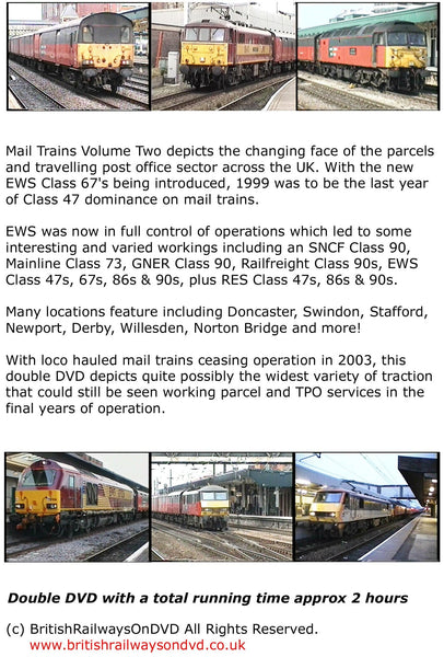 Mail Trains Volume Two (1999 - 2002) - Railway DVD