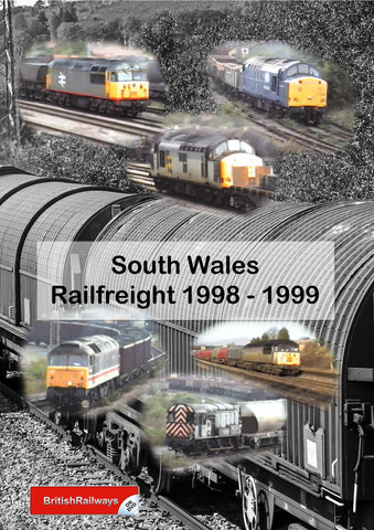 South Wales Railfreight 1998 - 1999 -Railway DVD