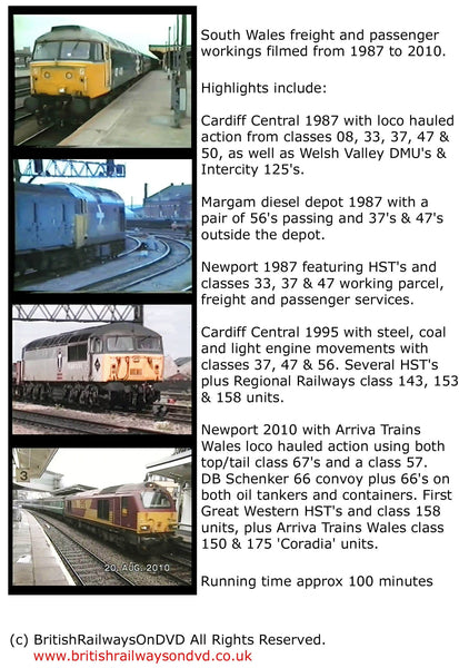 South Wales 1987 - 2010: Cardiff & Newport - Railway DVD