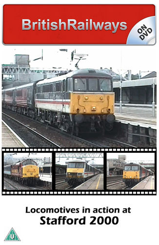 Locomotives in action at Stafford 2000 - Railway DVD
