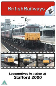 Locomotives in action at Stafford 2000