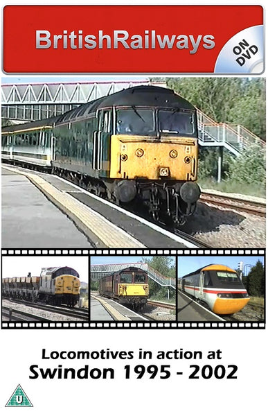 Locomotives in action at Swindon 1995 - 2002 - Railway DVD