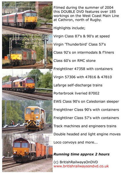 Lineside on the West Coast Main Line 2004 - Railway DVD