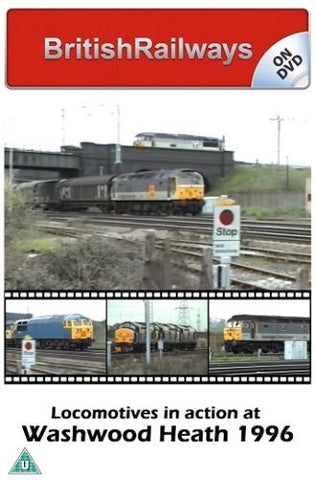 Locomotives in action Washwood Heath 1996