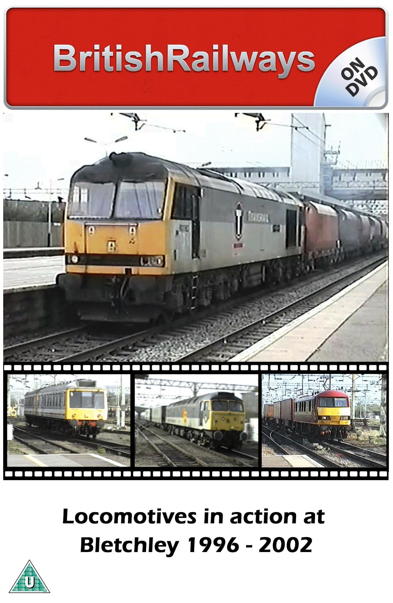 Locomotives in action at Bletchey 1996 - 2002