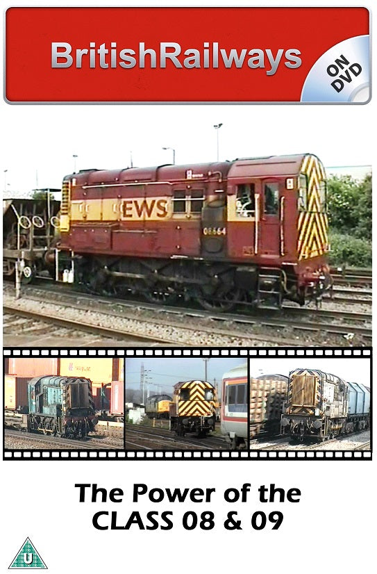 The Power of the Class 08 & 09 - Railway DVD