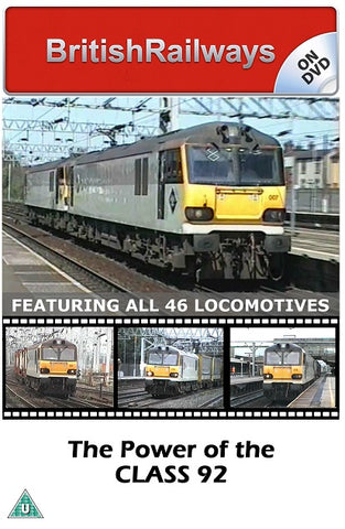 The Power of the Class 92 - Railway DVD