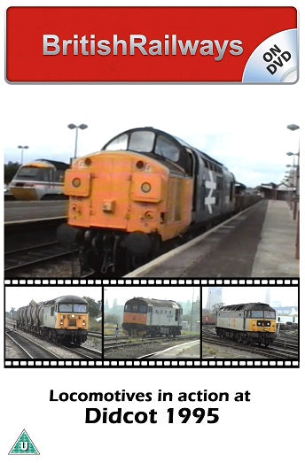 Locomotives in action at Didcot 1995 - Railway DVD