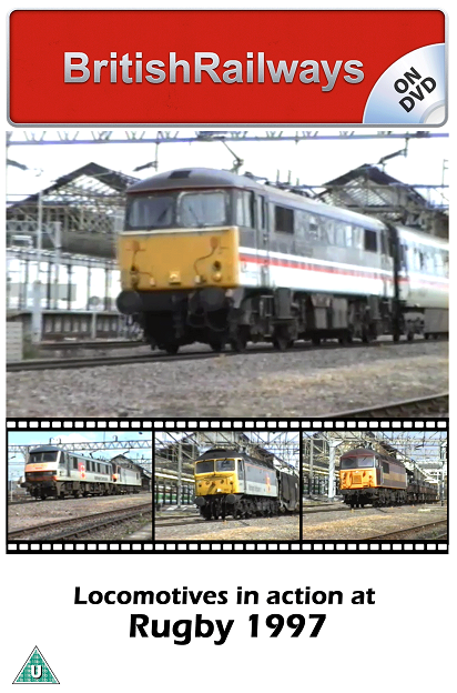 Locomotives in action at Rugby 1997 - Railway DVD