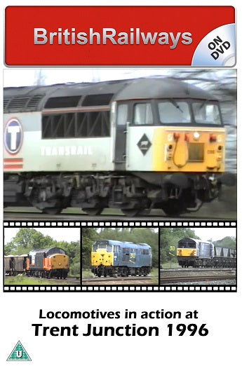 Locomotives in action at Trent Junction 1996 - Railway DVD
