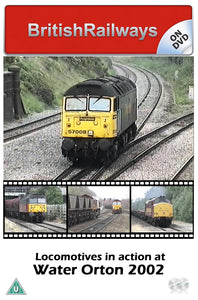 Locomotives in action at Water Orton 2002