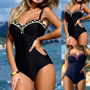 New One Piece Padded Swimwear