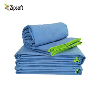 ZIPSOFT Adult Sports Beach Towels  (Great for Travel or Camping) - Monetta