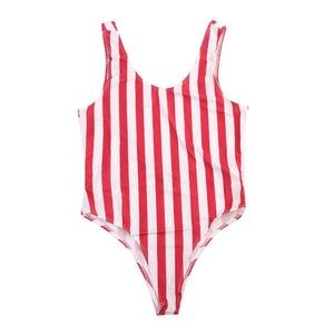 Monokini Striped Push Up Swimwear - Monetta