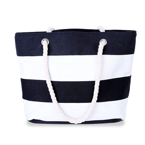 2018 New Arrival High Quality Women's Top-Handle Canvas Beach Handbags - Monetta