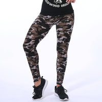 New Women's Fall Fashion 2018 Camouflage Printing Leggings - Monetta