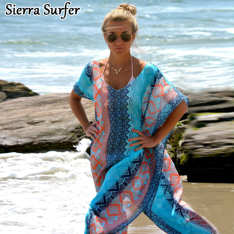 2018 Sierra Surfer Beach Tunic Cover Up - Monetta