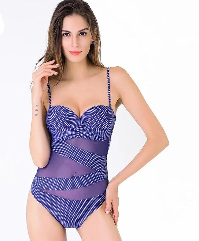Ladies One Piece Swimwear - Monetta