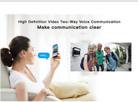 BlueSkySea WiFi Smart Wireless Visual Security Camera Doorbell Ring