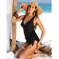 Onyx Black One Piece Swimwear