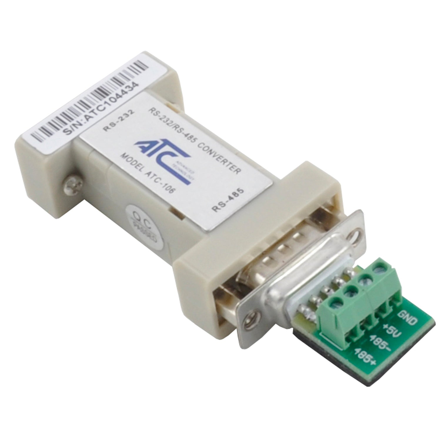 Atc 106 Rs232 To Rs485 Db9 Converter Non Isolated Grid Connect Usb Serial Adapter Schematic Circuit Hd Walls Find 1495