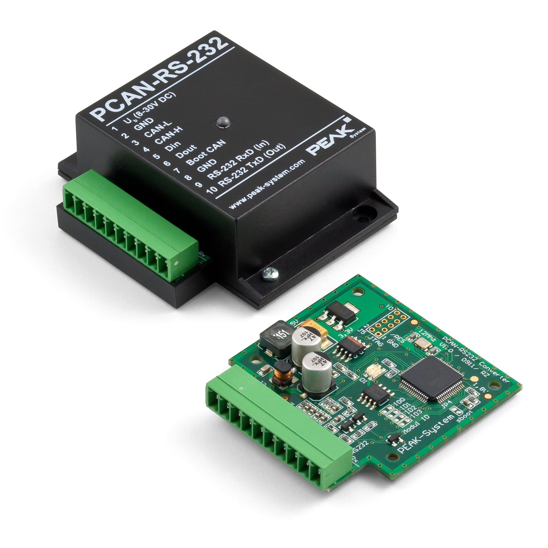 Programmable CAN bus to RS232 Adapter (PCAN-RS232)