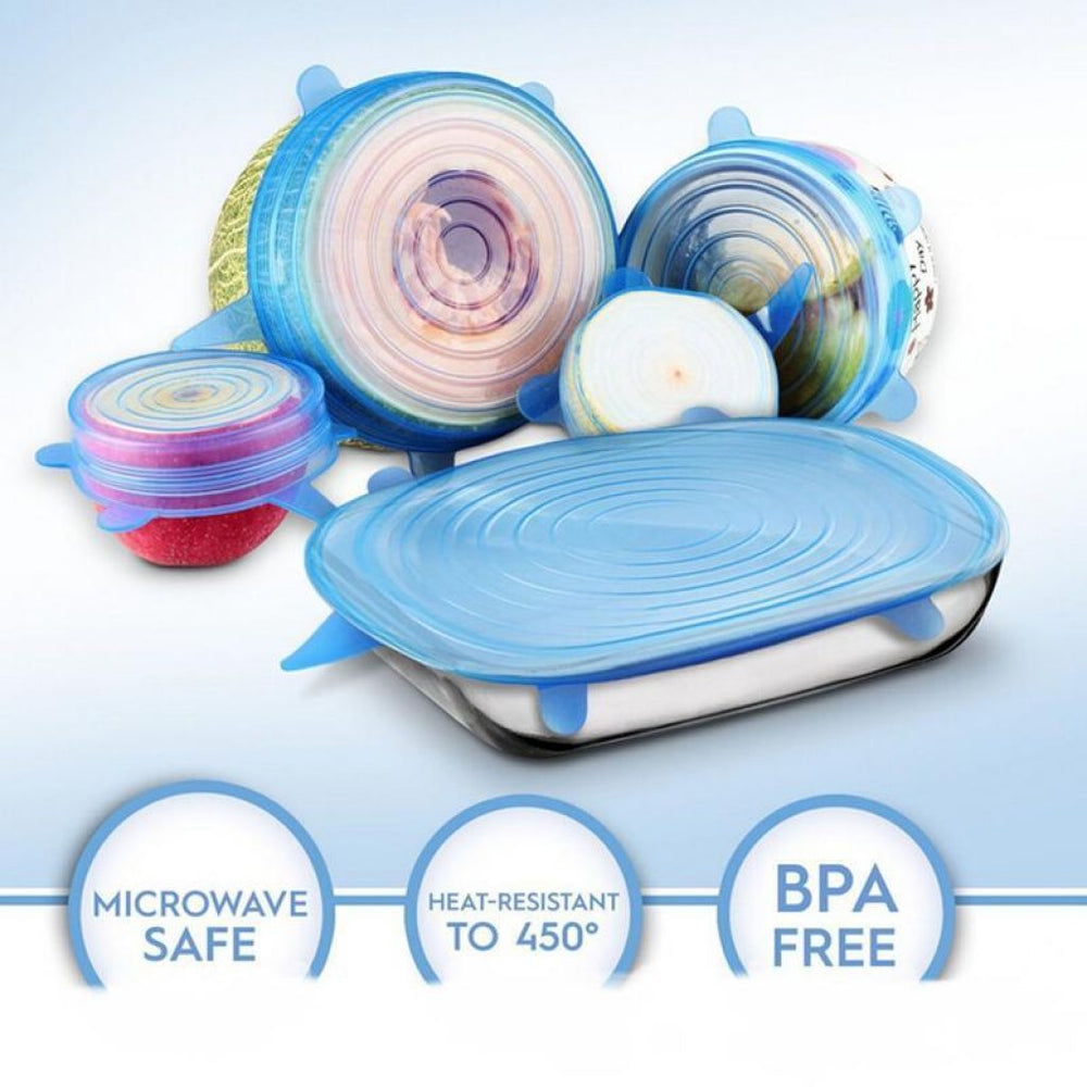BabeMome Wrap Food - Super safe food preservation - 6Pcs/ Set