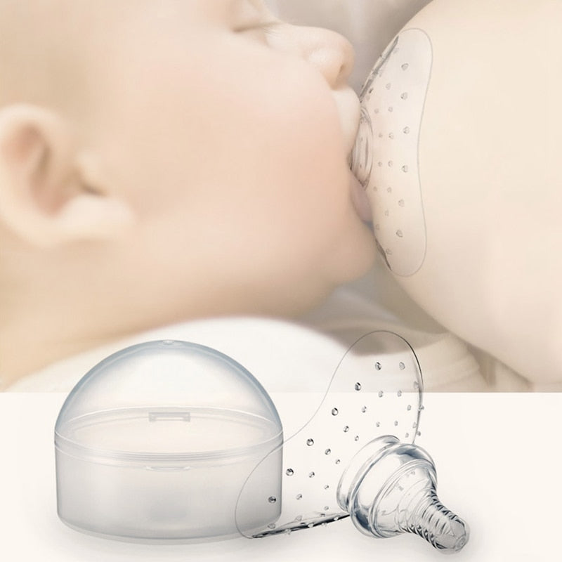 Silicone Nipple Protectors Feeding Mothers