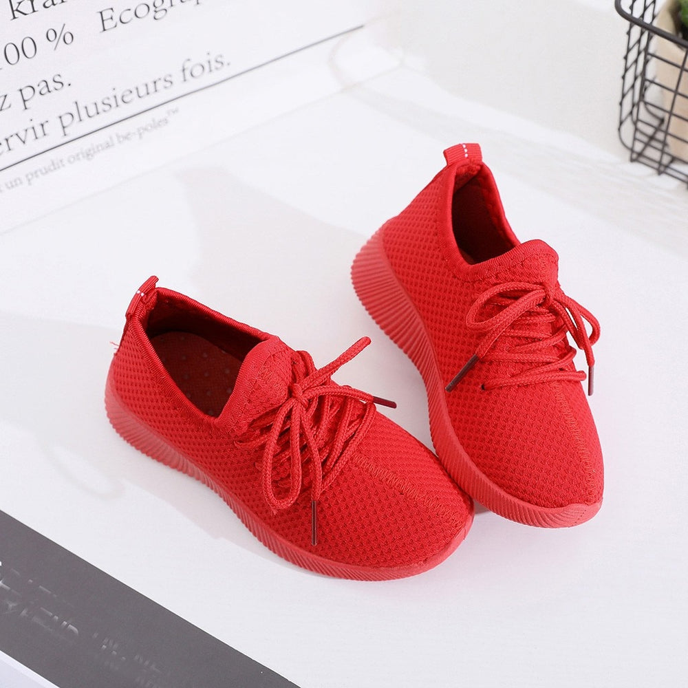 Shoes Kids Red Black Pro