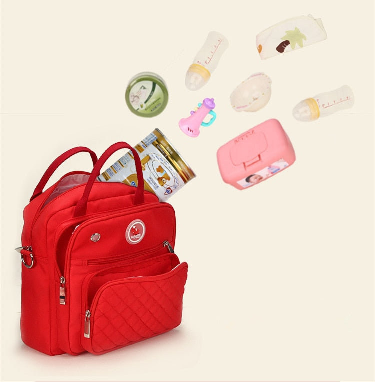 Mom Diaper Bag Waterproof Nylon