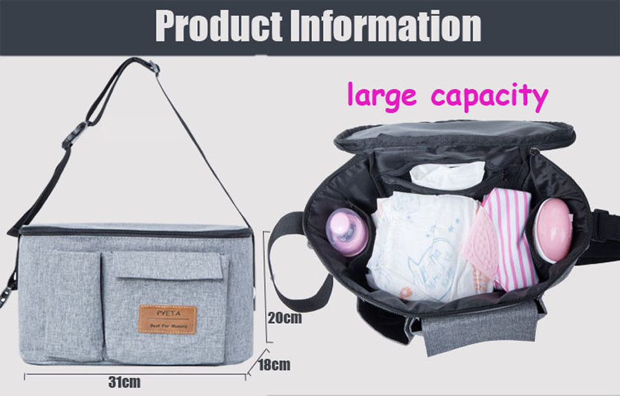 PYETA Diaper Bag For Baby Mom