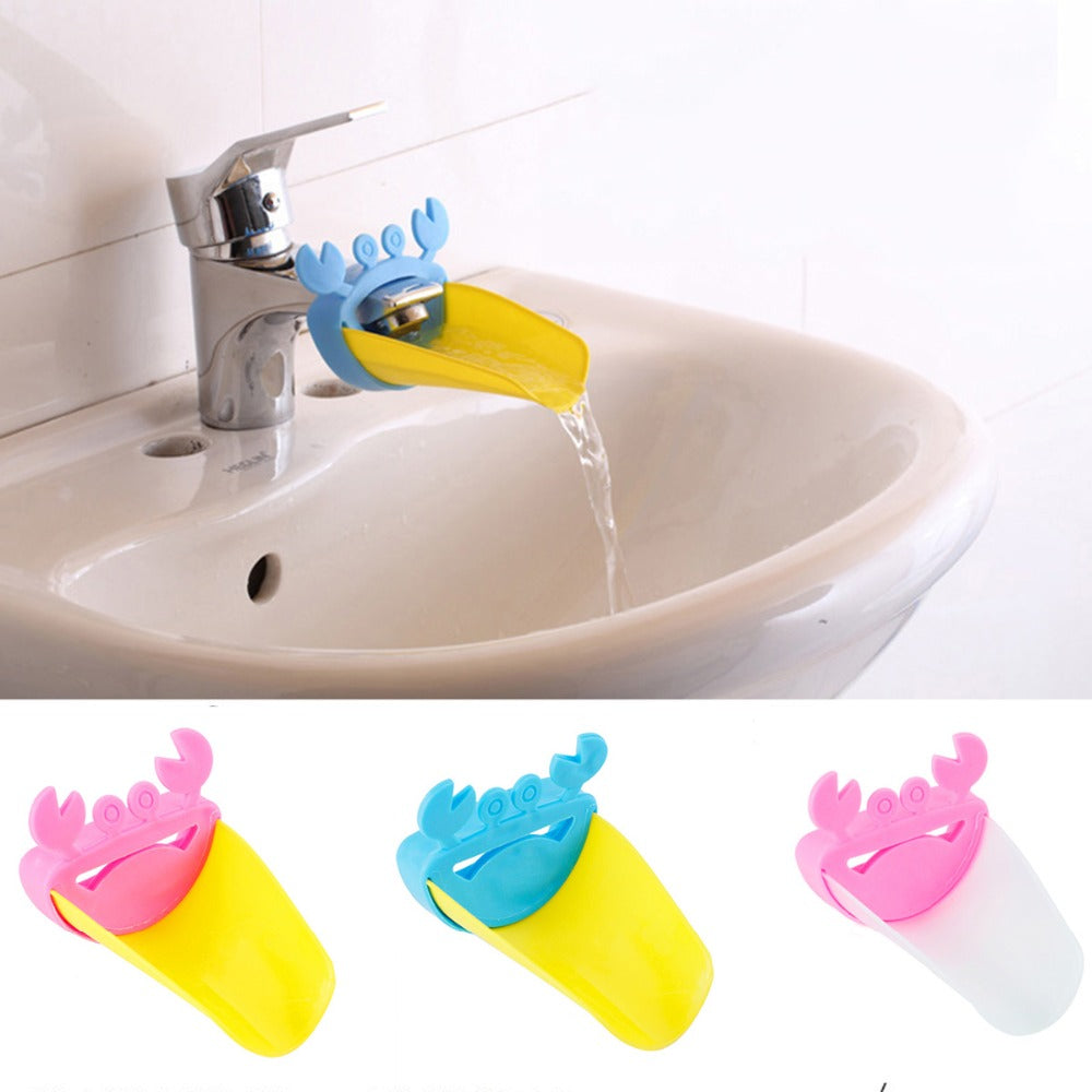 Extension Baby Bath Tap Crab