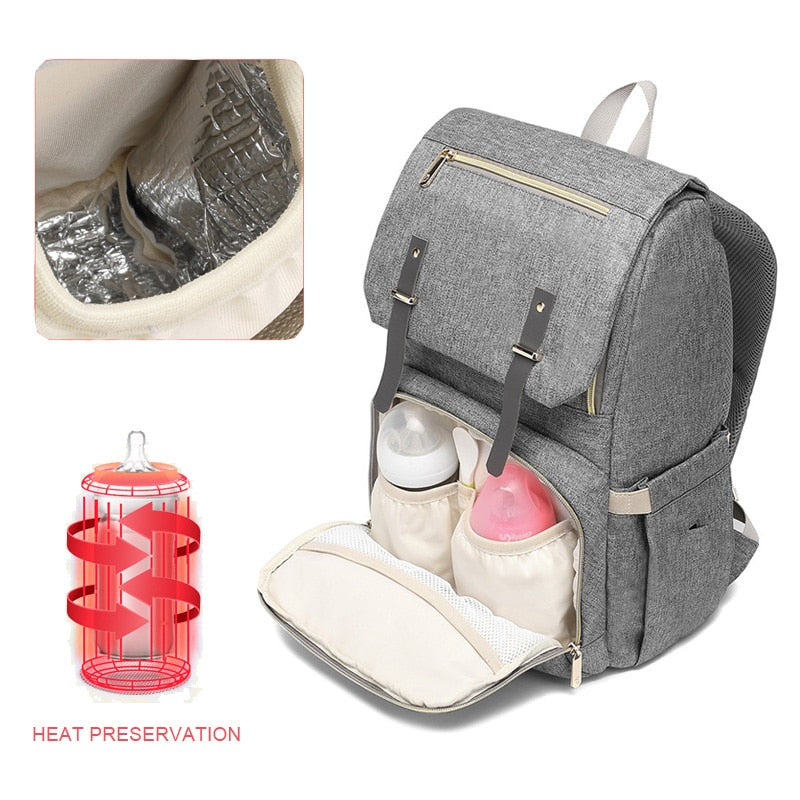 Large Diaper Bag USB New 2019